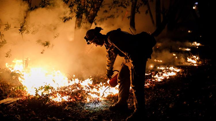 October Wildfires in California