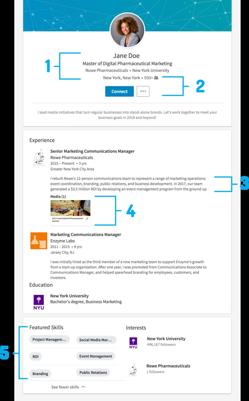 LinkedIn Profile Tips; Resources for Veterans