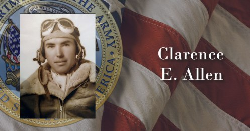 Army Air Forces 2nd Lt. Clarence E. Allen