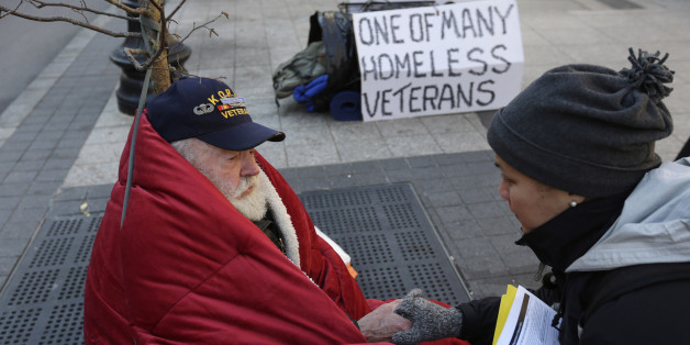 Helping Homeless People; Helping Homeless Veterans