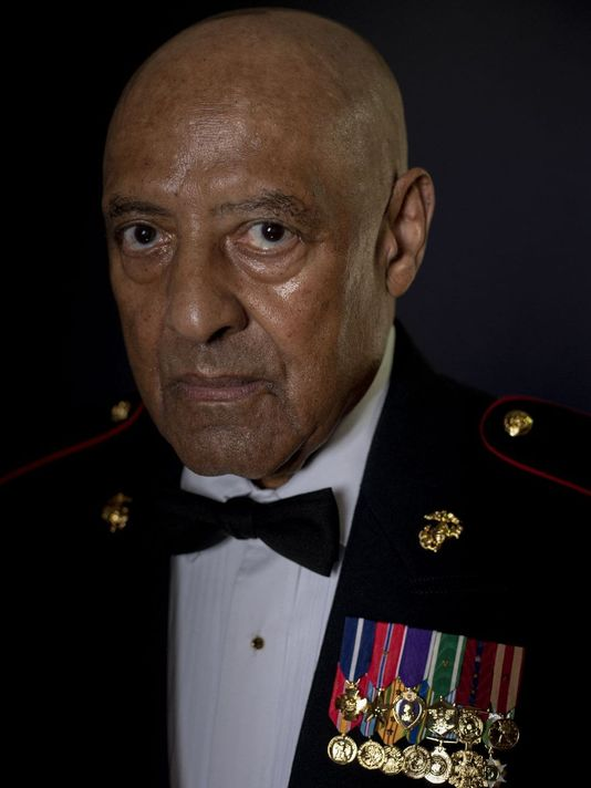 Marine Sgt. Major John Canley