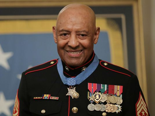 Major Sgt. Maj. John Canley