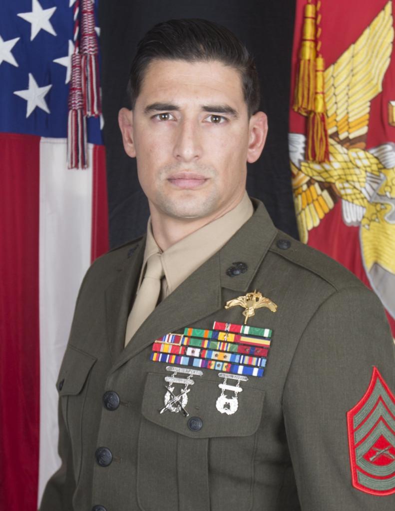 Gunnery Sgt. Diego D. Pongo